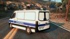 Serbian Police Van - Srpska Marica для GTA 5 вид слева