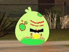 Green Fat Bird from Angry Birds Space