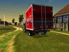 ГАЗель 33023 Coca-Cola for GTA San Andreas rear-left view