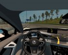 BMW i8 for Euro Truck Simulator 2 back view
