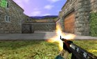 Ak 47 Skull with new Sounds for Counter-Strike 1.6 left view