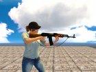 AK-47 с ремешком for GTA San Andreas inside view