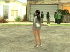 Kokoro Business Suit для GTA San Andreas вид справа