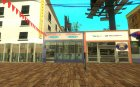 Новая пляжная улица для GTA San Andreas вид изнутри