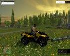 Canam 1000XT for Farming Simulator 2015 left view