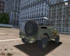 Jeep Willys для Mafia: The City of Lost Heaven вид сзади слева