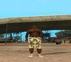 Chonglers Камуфляжный для GTA San Andreas вид сзади слева