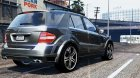Mercedes-Benz ML Brabus 2009 «Monoblock Q» для GTA 5 вид слева