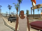 Carl Johnson INSANITY for GTA San Andreas left view