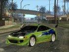 Mitsubishi Eclipse GS-T 1997 для GTA San Andreas вид справа