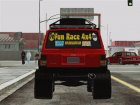 Jeep Cherokee 1998 Off Road 4x4 для GTA San Andreas вид сзади
