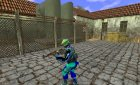 GIGN Casual Blue Skin for Counter-Strike 1.6 top view