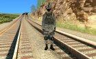Солдат в городском камуфляже for GTA San Andreas inside view