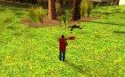 Хищник для GTA San Andreas вид сзади