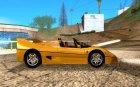 Ferrari F50 Spider 1995 for GTA San Andreas inside view