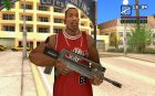 Famas for GTA San Andreas left view