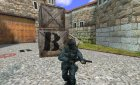 minigun(Black) for Counter-Strike 1.6 top view