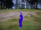 Твинки-Винки Телепузики для GTA San Andreas вид сверху