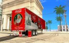 Coca Cola Trailer for GTA San Andreas inside view