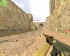 Идеальная стрельба из AK-47 и M4A1 для Counter-Strike 1.6 вид слева