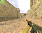 Идеальная стрельба из AK-47 и M4A1 for Counter-Strike 1.6 left view