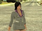 Kokoro Business Suit для GTA San Andreas вид слева