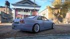 Nissan Skyline GTR-R33 for GTA 4 left view