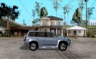 Nissan Patrol 2005 for GTA San Andreas inside view