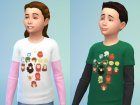ElfQuest Tops Set for Sims 4 inside view
