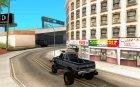 Chevrolet Hunter для GTA San Andreas вид сзади слева