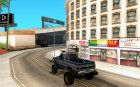 Chevrolet Hunter for GTA San Andreas rear-left view