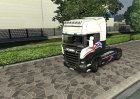 Новые тротуары for Euro Truck Simulator 2 left view