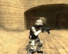 Happycamper´s Soldier Of The Future for Counter-Strike Source left view
