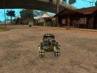 Новый RC Tiger для GTA San Andreas вид сзади слева
