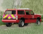 FBI Rancher - Metro Fire Battalion Chief 69 for GTA San Andreas top view