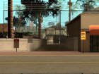 Безопасный Гроув Стрит HQ for GTA San Andreas left view
