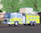 Pierce Quantum Miami Dade Fire Department Tanker 6 для GTA San Andreas вид слева