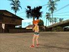 Мисти из мультсериала Покемон для GTA San Andreas вид справа