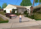 Четыре новых дома на Гроув Стрит для GTA San Andreas вид слева