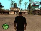 Футболка Let 4 Dead 2 для GTA San Andreas вид сверху
