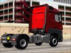 Mercedes-Benz Actros MP4 Stream Space Black  4x2 V2.0 для GTA San Andreas вид изнутри