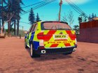 BMW X5 Kent Police RPU для GTA San Andreas вид слева