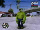 Hulk Classic for GTA San Andreas rear-left view