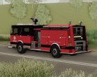 Firetruck - Metro Fire Engine 69 for GTA San Andreas rear-left view