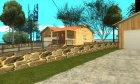 Новый дом Сиджея в Паломино Крик + новые двери. for GTA San Andreas left view