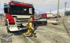 Firefighters Mod V1.8R for GTA 5 side view