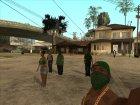 HD Пак банд Los Santos'а for GTA San Andreas left view