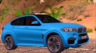 BMW X6M F86 for GTA San Andreas rear-left view