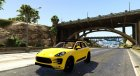 2015 Porsche Macan Turbo для GTA 5 вид сбоку
