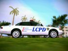 GTA IV Police Cruiser for GTA Vice City rear-left view